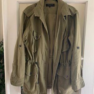 Rag & Bone Army Green Military Jacket, 6